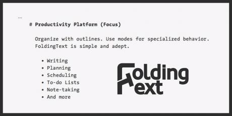 plain text productivity editor