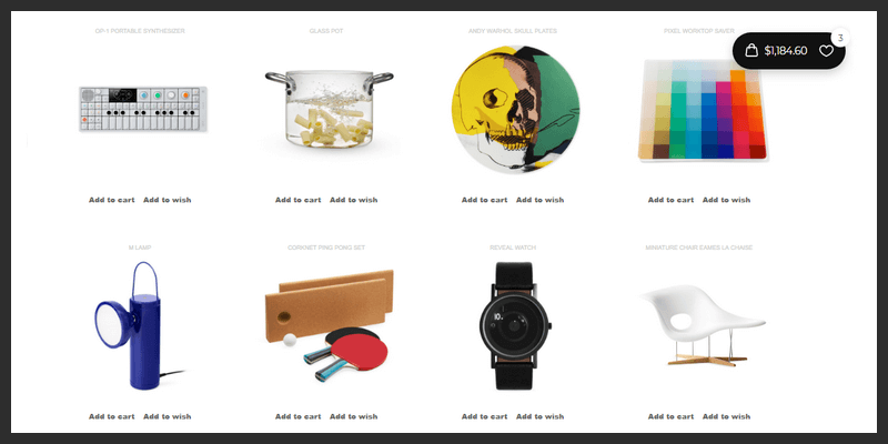 Responsive Shopping Cart in CSS & Javascript | Bypeople