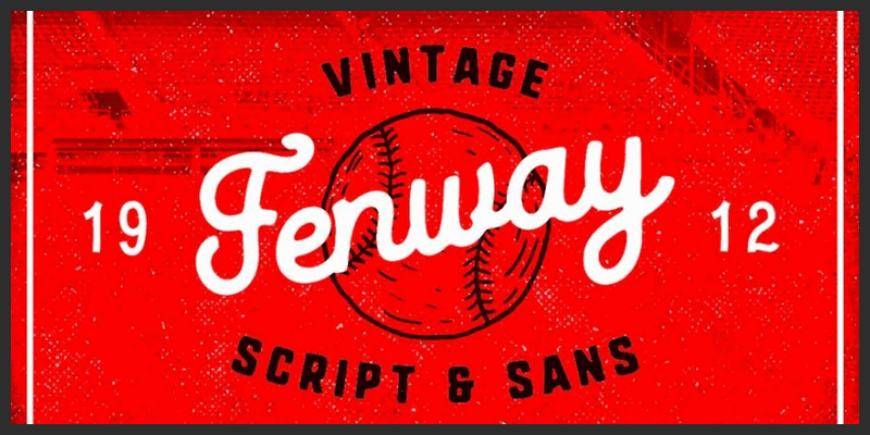 Vintage Sports Script Typeface   Bypeople