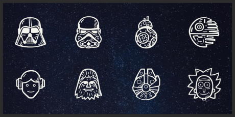 vector space icons free