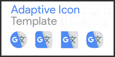 adaptive icon template sketch