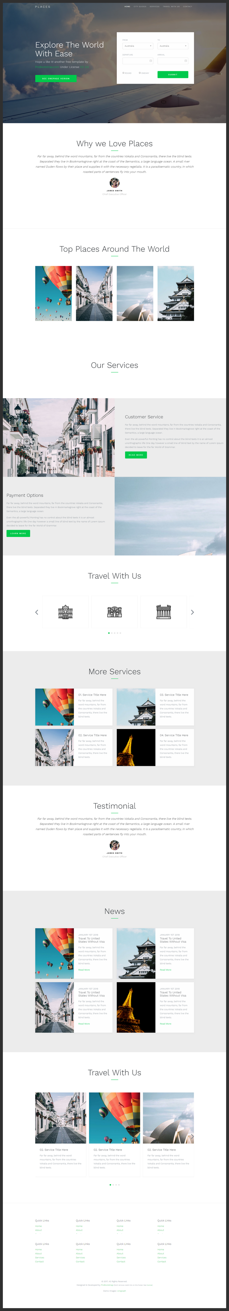 Bootstrap 4 business website template bypeople animations included throughout the layout making your site look neat and sleek there are two versions of this template one page and multipage accmission Image collections