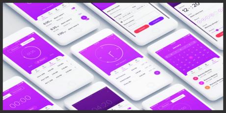 calendar ios app ui