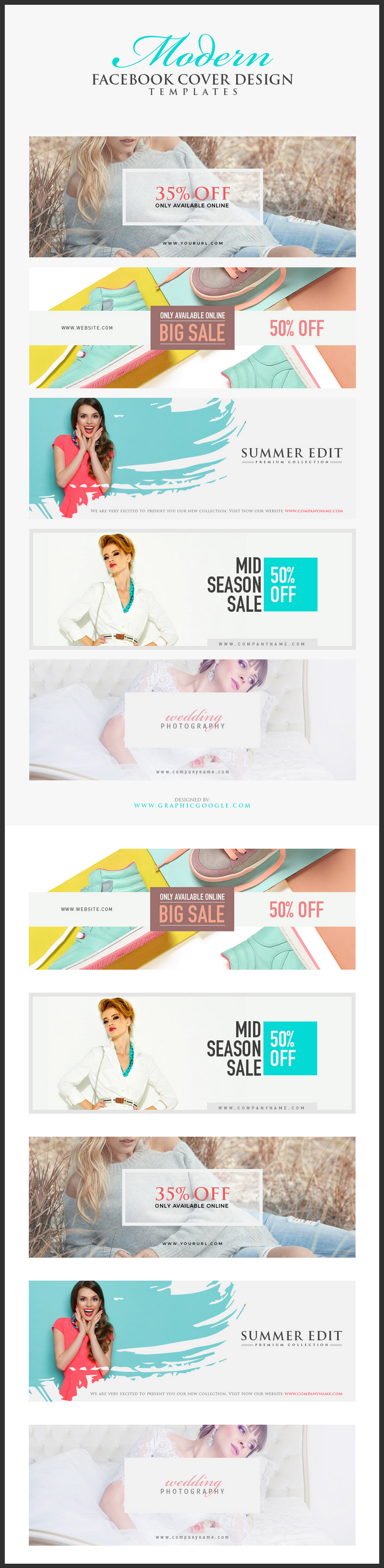 5 free facebook business cover templates psd bypeople this pack includes 5 psd stand alone templates fully layered and editable ready to use for facebook business sale covers special promos etc accmission Choice Image