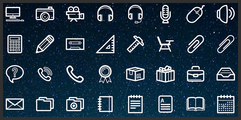 free icons pack office