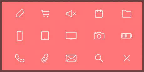 free line icons 40
