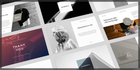 free presentation template keynote