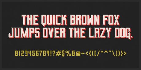 horror font serif free