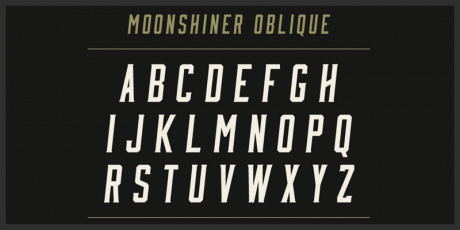 moonshiner new free typeface by mattox shuler