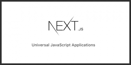 next js 4 server rendered react framework