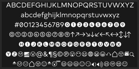 sans serif font modern geometric