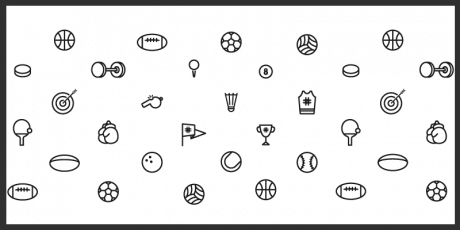 vector sport icons free