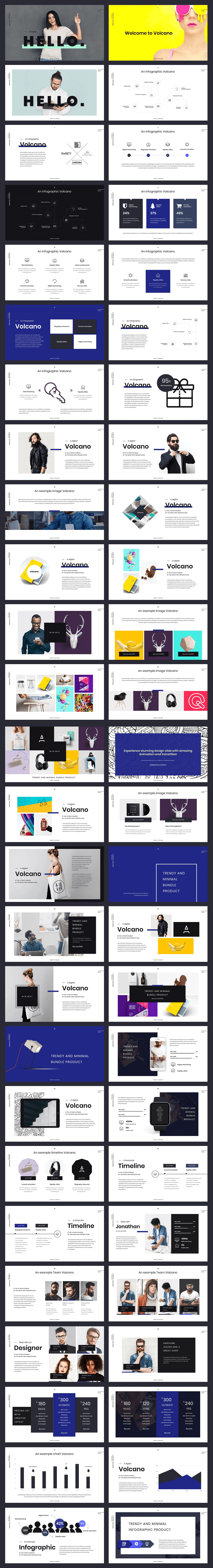 Massive 23000 powerpoint presentation slides bundle bypeople volcano powerpoint template back to top toneelgroepblik Image collections