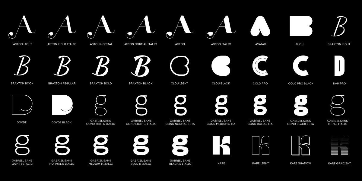 FontFabric Bundle: 90+ Professional Fonts from 18 Font