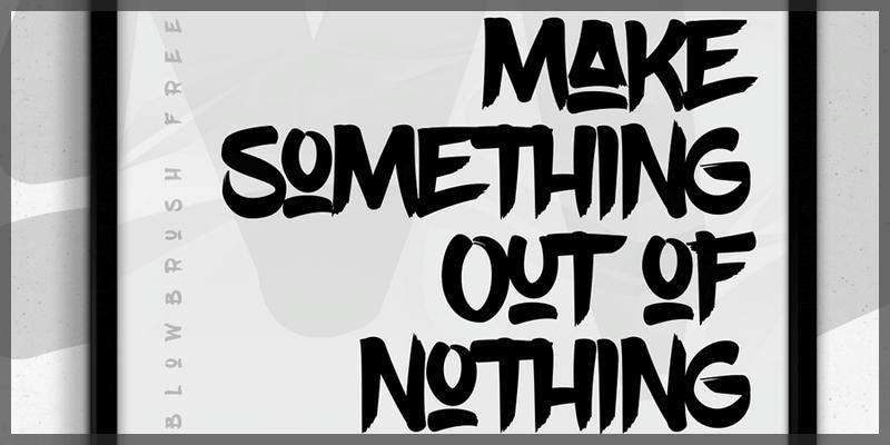 modern brush font