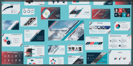 powerpoint template free 30 slides