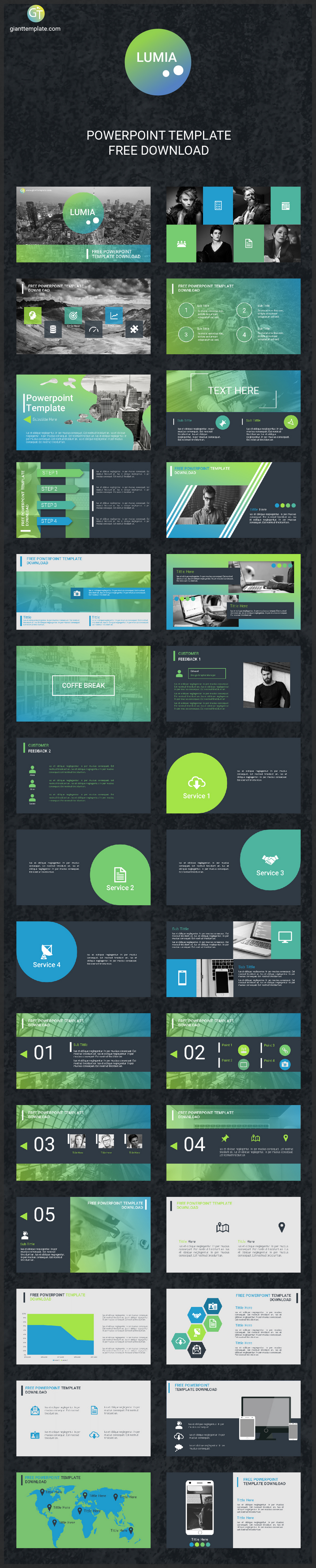 Free powepoint presentation template 30 slides bypeople and layouts suitable for all kinds of academic or professional presentations the slides feature roboto font as default free for personal use only toneelgroepblik Gallery