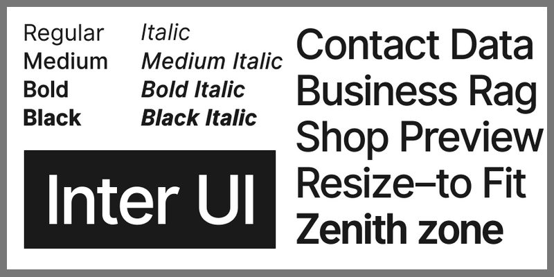 Inter UI: Roboto Alternative User Interface Font   Bypeople