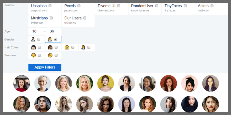 UI Avatars Generator Plugin (Sketch) | Bypeople