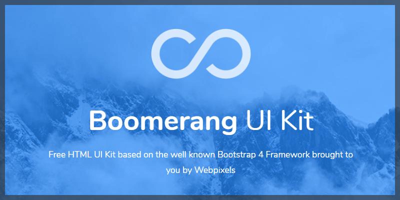 bootstrap html ui kit free
