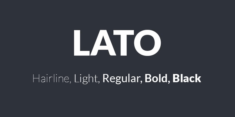 Lato: Crafted Professional Font | Bypeople