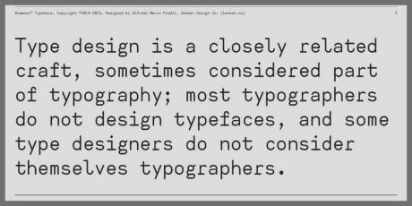 free monospaced font ahamono