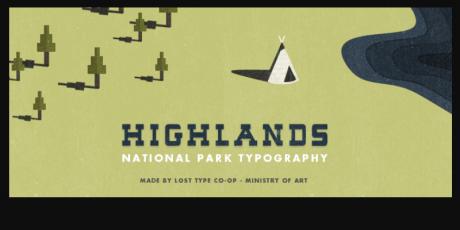 highlands font
