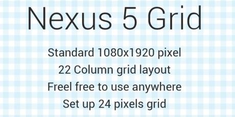 nexus 5 grid