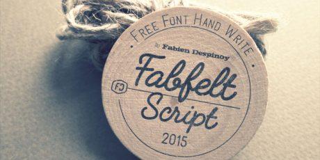 script bold typeface