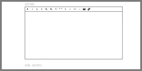 ultra lightweight wysiwyg editor