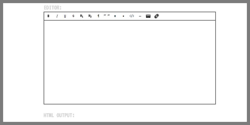 Ultra Lightweight WYSIWYG Editor | Bypeople