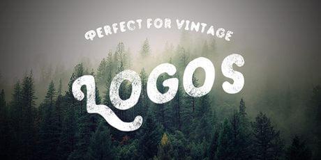 vintage hand drawn typeface