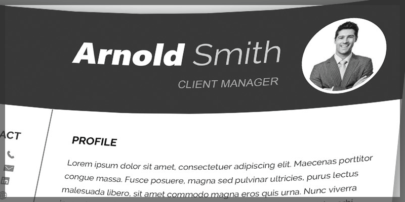 Free Word Resume Template & Cover Letter (docx) | Bypeople