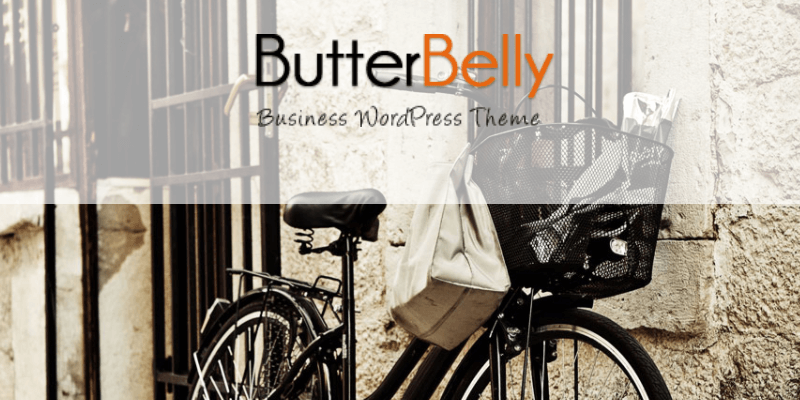 butterbelly wordpress theme