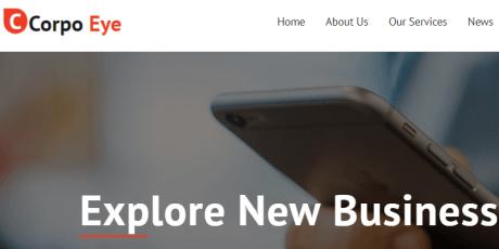 corpo mobile wordpress theme