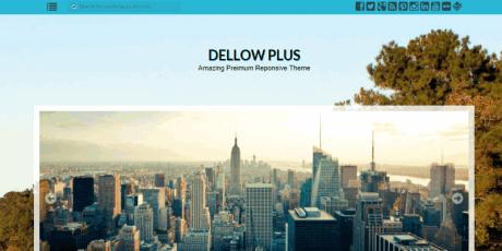 dellow wordpress theme