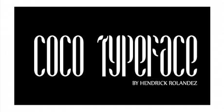 dribbble coco free fashion typefamily by hendrick rolandez