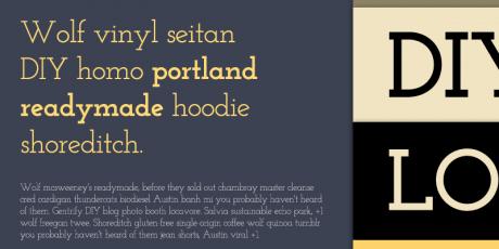 elegant geometric serif font