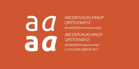 free professional font ubuntu
