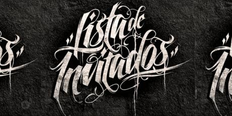 handwritten script typeface