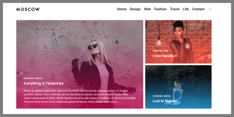 lightweight free wordpress theme moscow