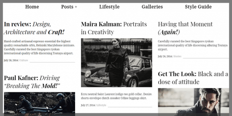 magazine wordpress theme masonry layout hive lite