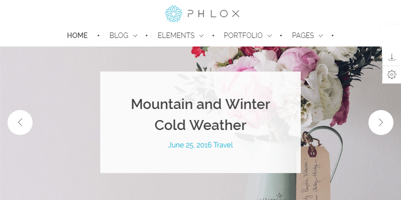 phlox elegant multipurpose wordpress theme