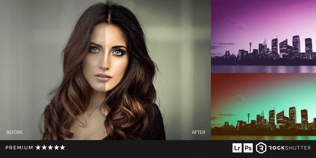 720+ Lightroom Presets, 690+ Photoshop Actions  17 Collections  A