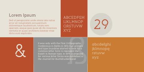 revisited geometric slab serif font