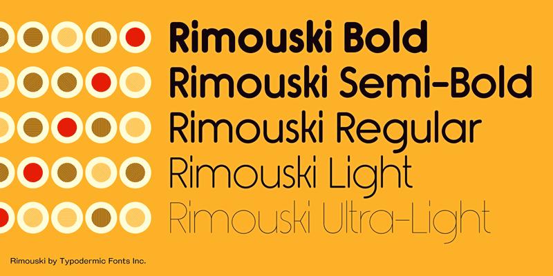 rimouski font