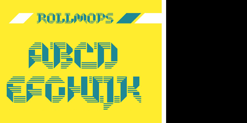 rollmops font