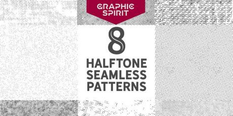 bypeople exclusive seamless halftone dot patterns