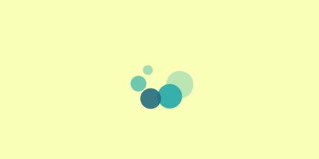 circular shapes css loader
