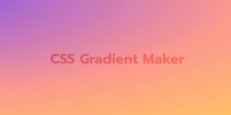 css gradient maker